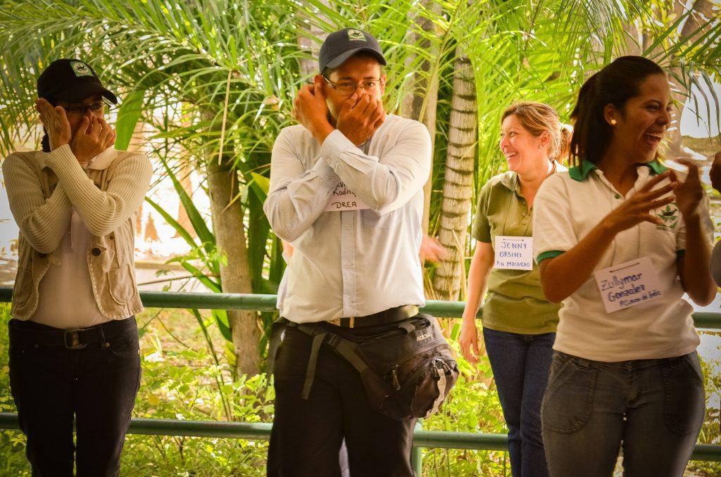 Trabajadores de Inparques asisten al encuentro de formación sobre educación ambiental