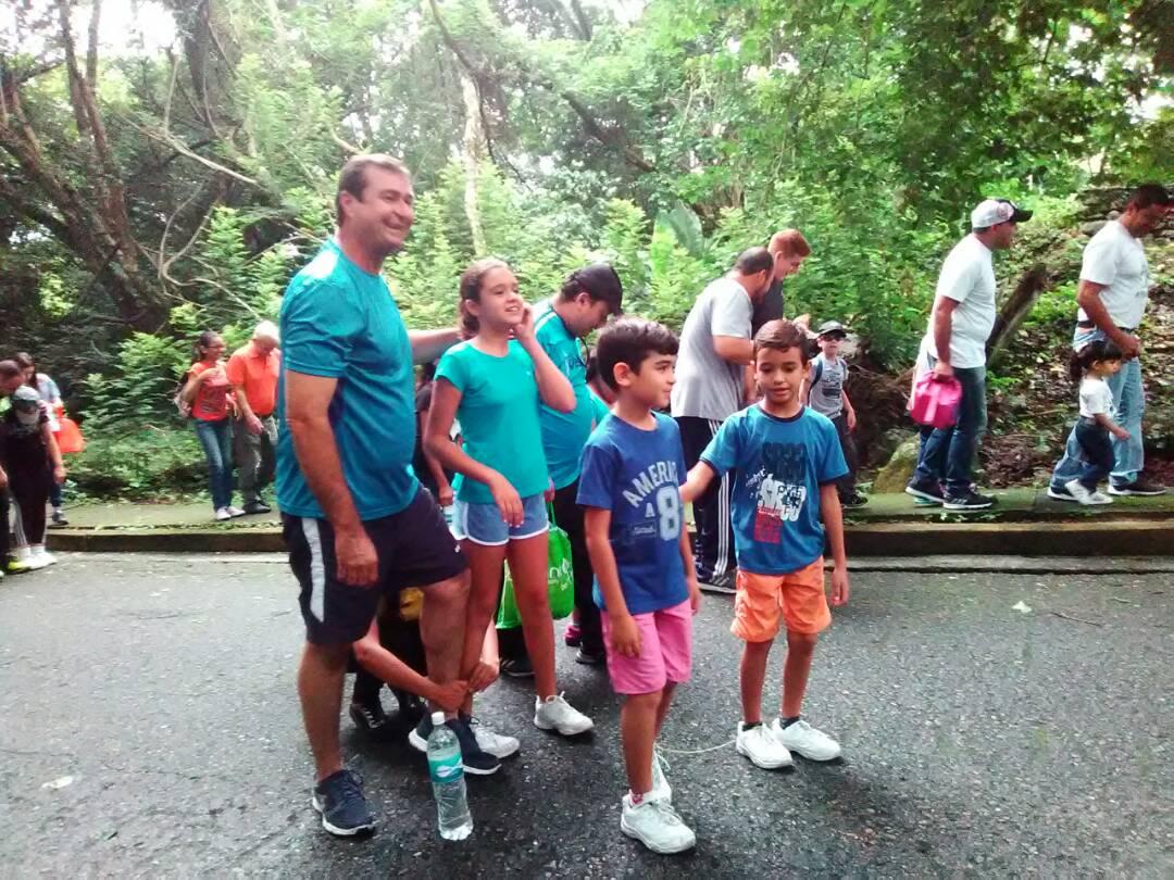 Niños y niñas celebraron Día del Padre en el Parque Nacional Yurubí