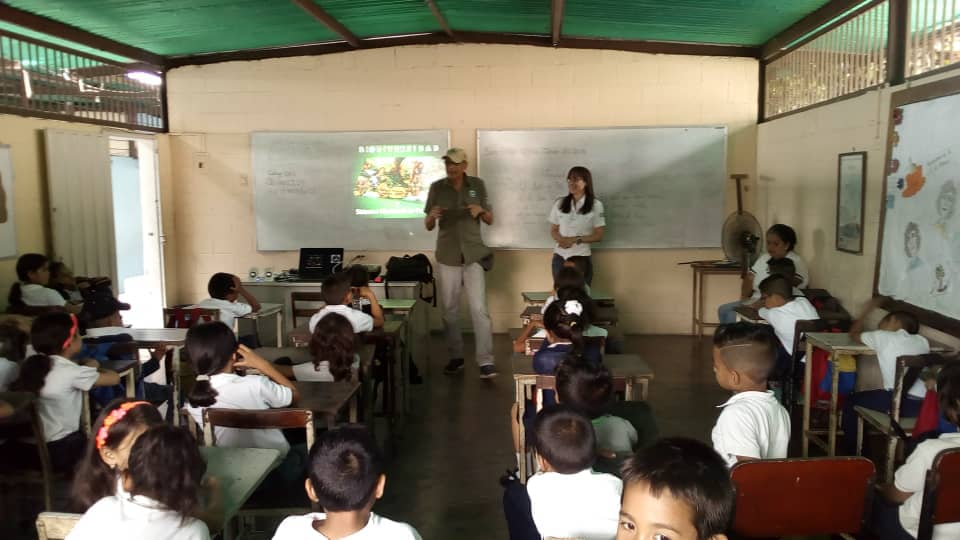 Educación ambiental es llevada a centros educativos de Yaracuy