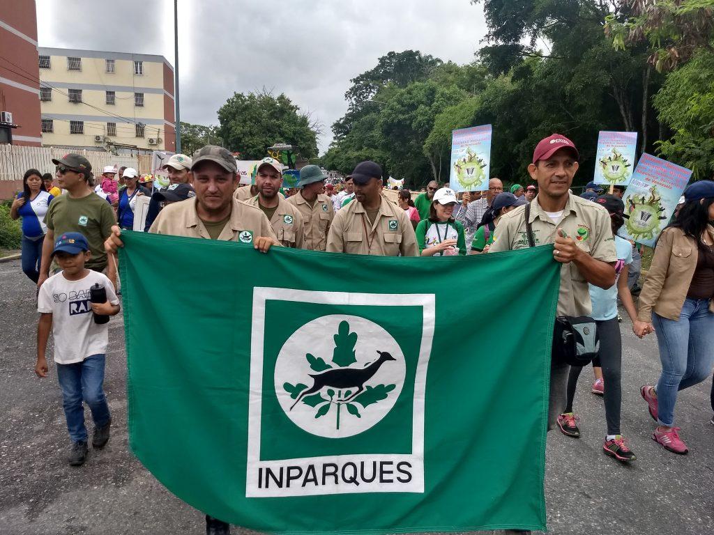 Ecosocialistas larenses caminaron por la semana del ambiente