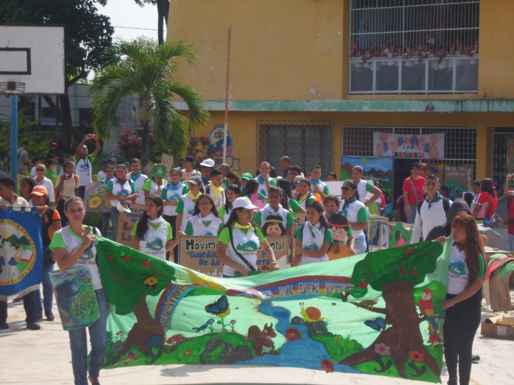Con una caminata ecológica se celebró el Día Mundial del Ambiente en Yaracuy