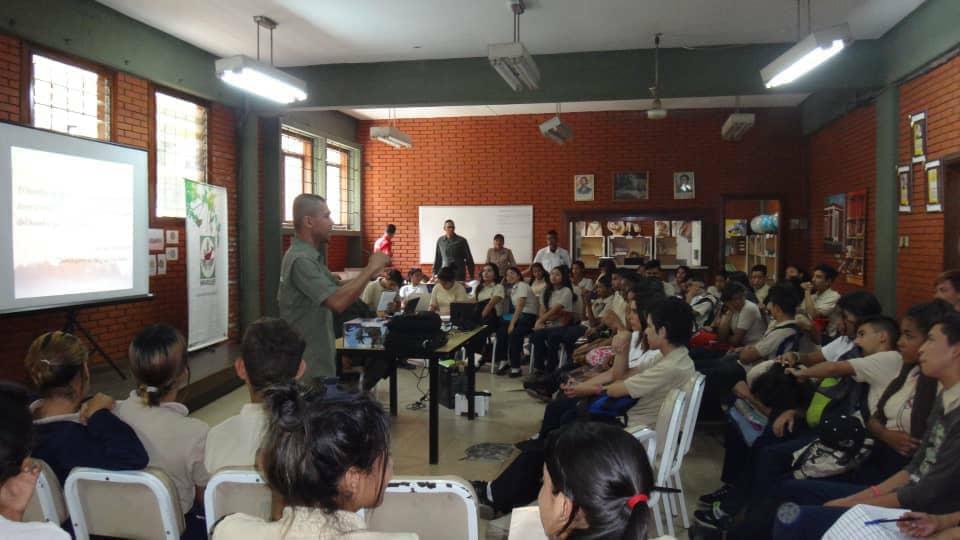 Taller educativo sobre el ambiente fue realizado en Carabobo