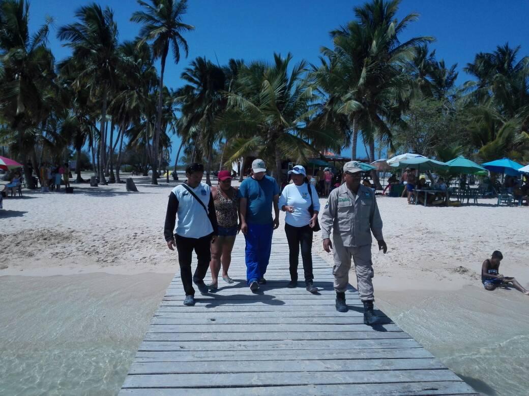 Presidente de Inparques inspeccionó espacios del Parque Nacional Morrocoy
