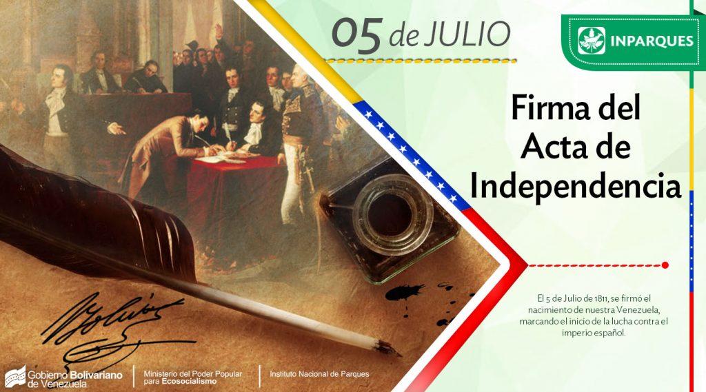Se cumplen 207 años del nacimiento de la Venezuela Independiente