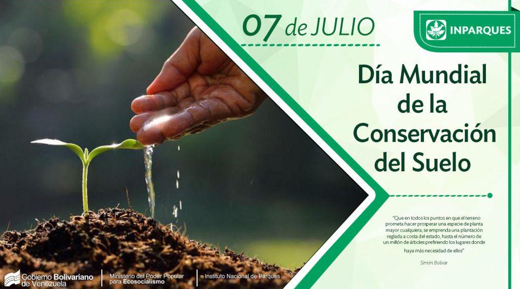 Inparques celebra el Día de la Conservación de los Suelos