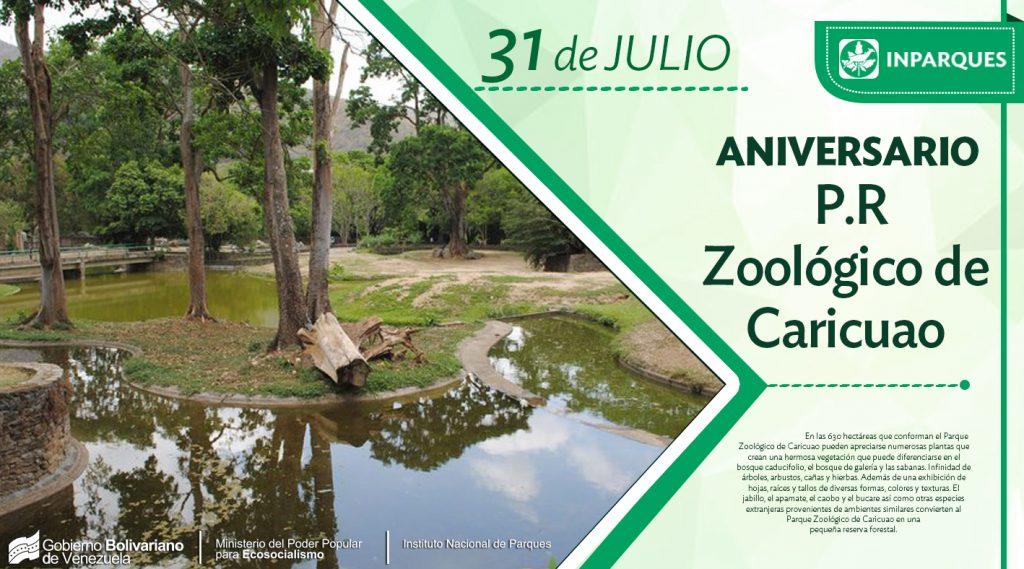 Parque Zoológico de Caricuao: patrimonio ecológico de Caracas