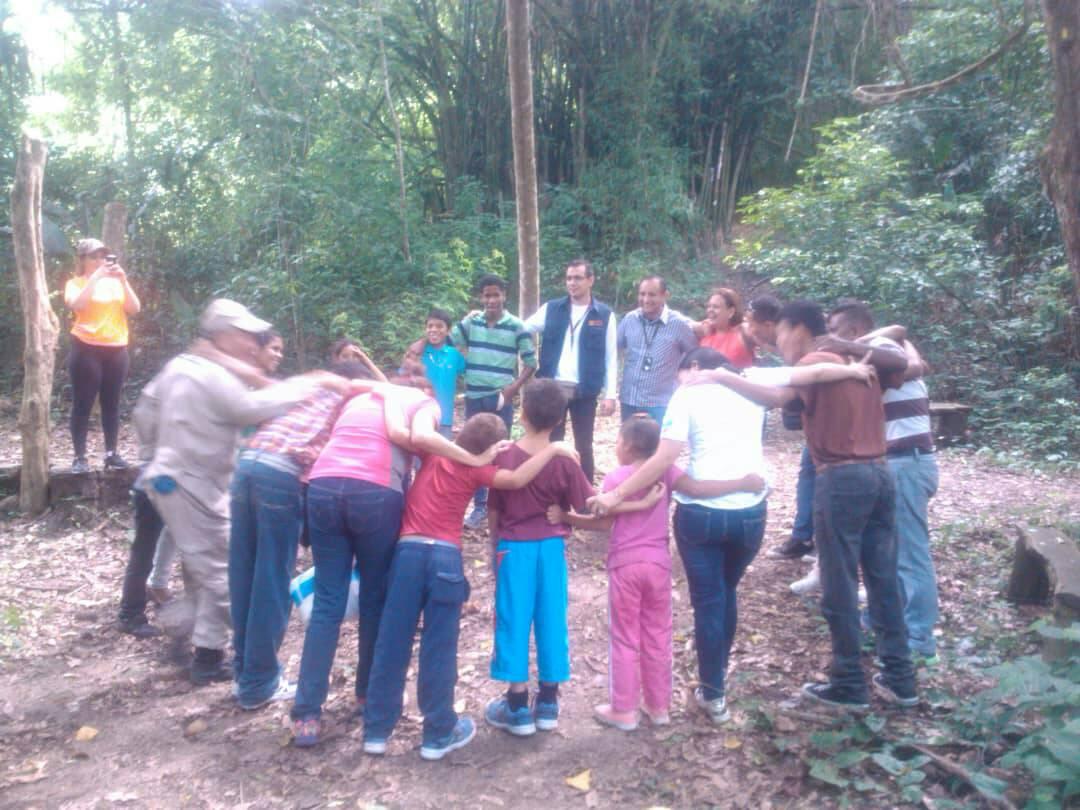 Idenna realizó actividades recreativas en el Parque Nacional Yurubí
