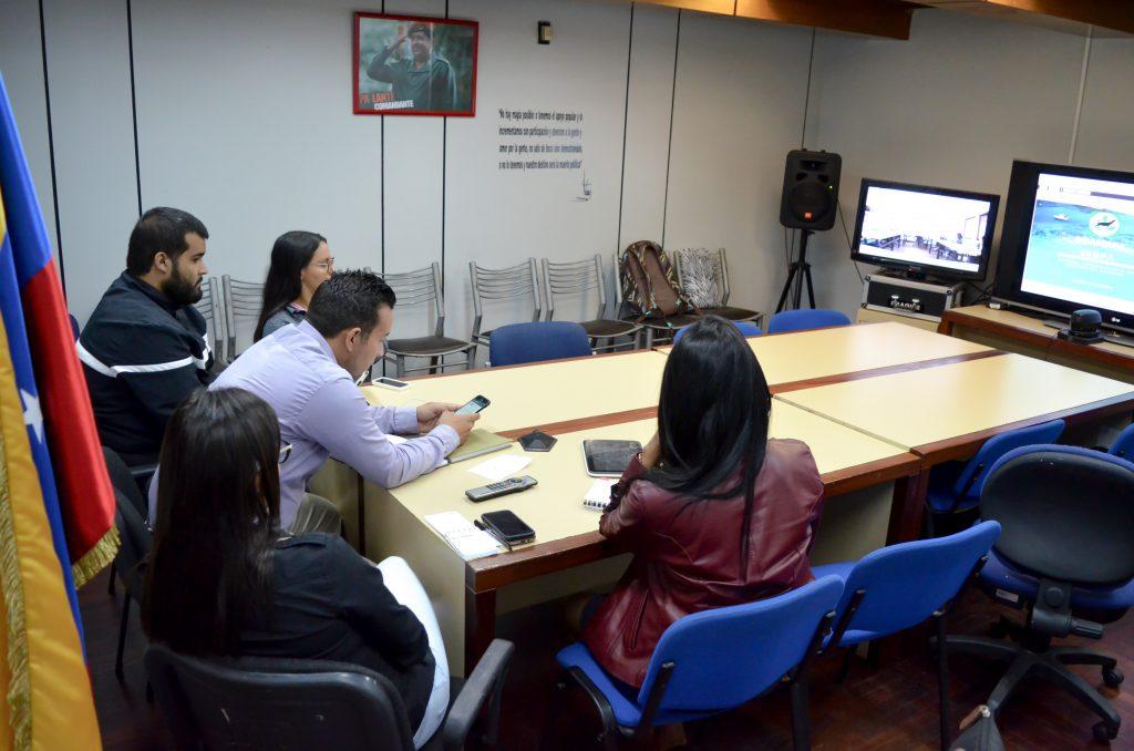 Inparques realizó presentación de su nueva directiva a los directores estadales