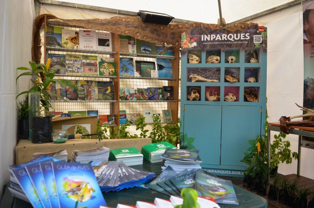 Inparques presente en la 9na edición de la Feria del Libro de Caracas 2018