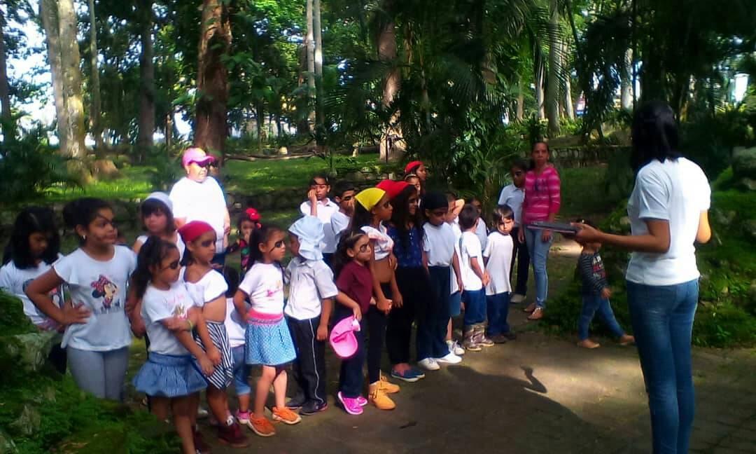 Planes vacacionales visitaron el Parque Histórico Arqueológico San Felipe El Fuerte