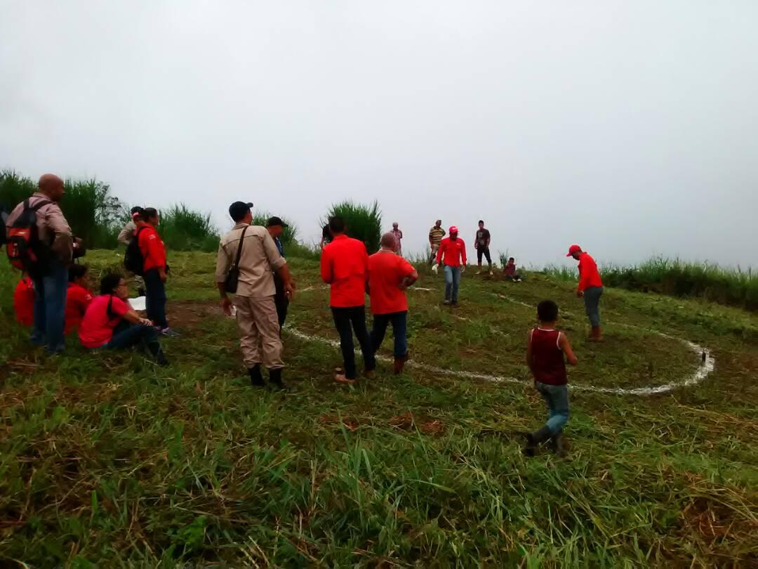 Inparques participa en jornada de reforestación con entes estadales y nacionales
