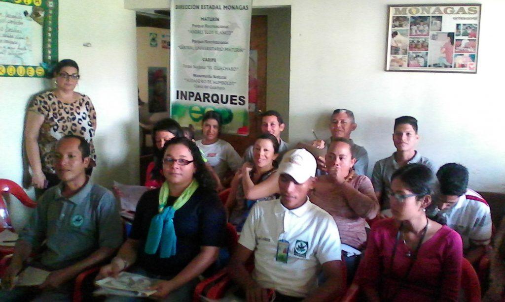 Trabajadores de Inparques reciben capacitación sobre redacción de informes