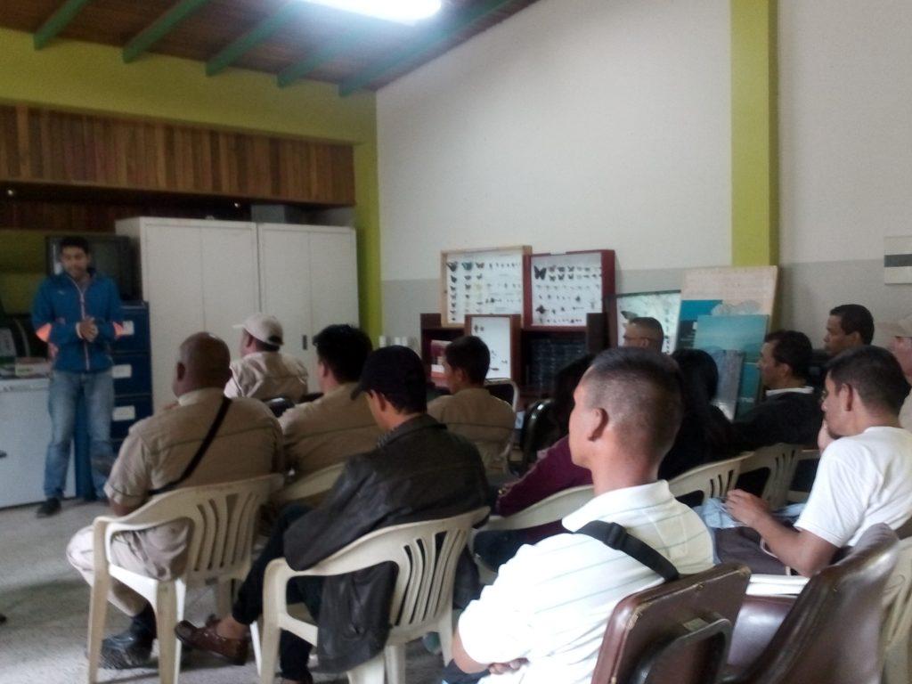 Inparques dictó taller sobre Plan de Ordenamiento y Reglamento de Uso en Táchira