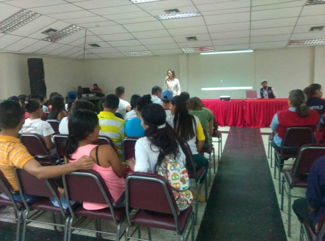 Inparques participó en formación del movimiento de recreadores en Yaracuy