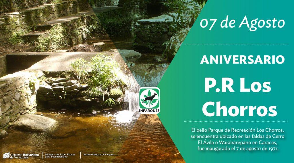 Parque Recreacional Los Chorros arriba a su 47 aniversario