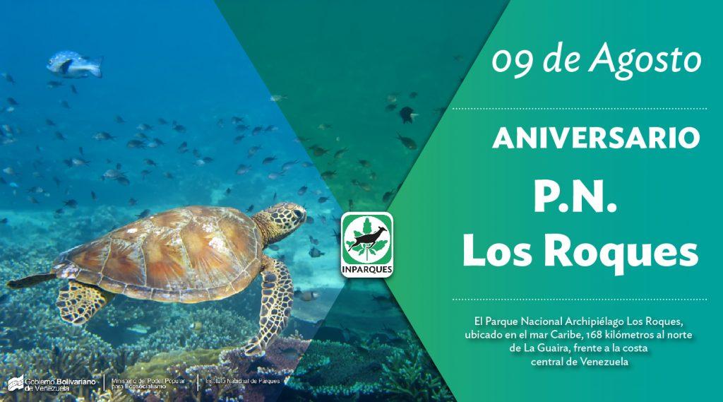 46 años de su declaratoria celebra el Parque Nacional Archipiélago Los Roques