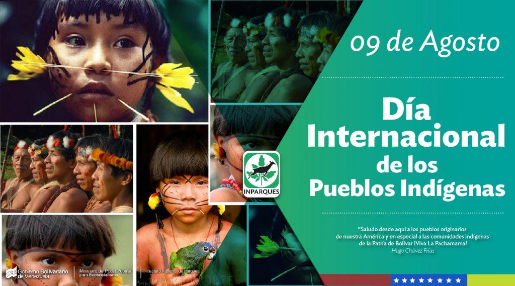 Inparques celebra el Día Internacional de los Pueblos Indígenas