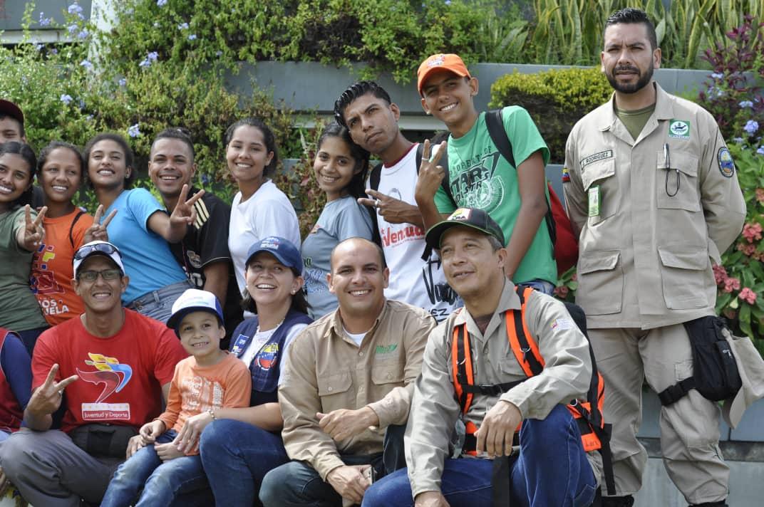Inparques participó en el lanzamiento del Plan Nacional Comunitario 2018 en Lara