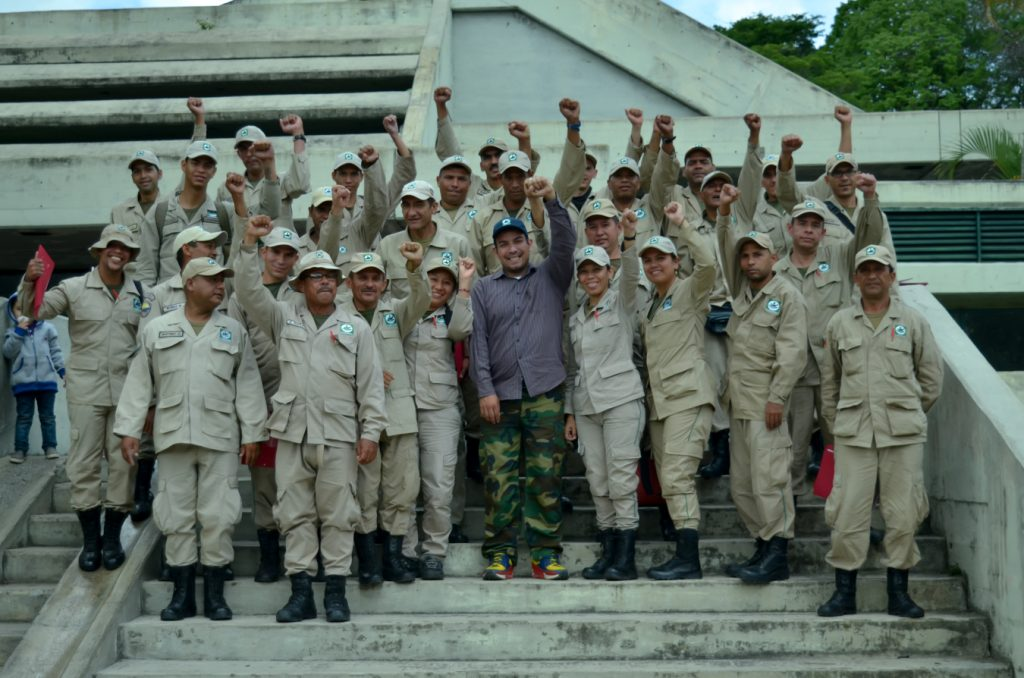 Cuerpo Civil de Guardaparques participó en mesas de trabajo para sistematizar propuestas de reglamento interno