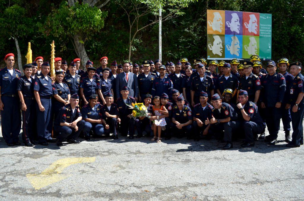 Ascendidos 47 Bomberos Forestales de Inparques en el Parque Nacional Waraira Repano