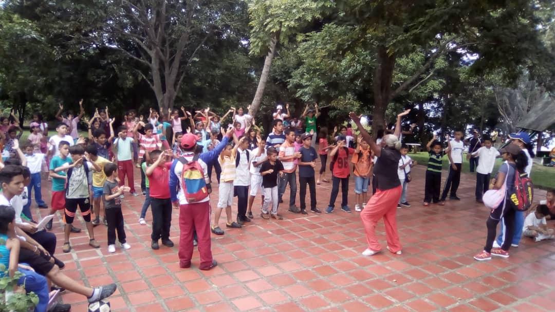 Planes Vacacionales Visitan el Parque Recreacional Embalse Cumaripa