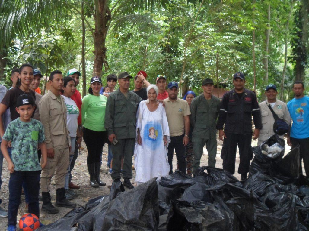 Inparques realizó jornada de saneamiento en el Monumento Natural Cerro María Lionza