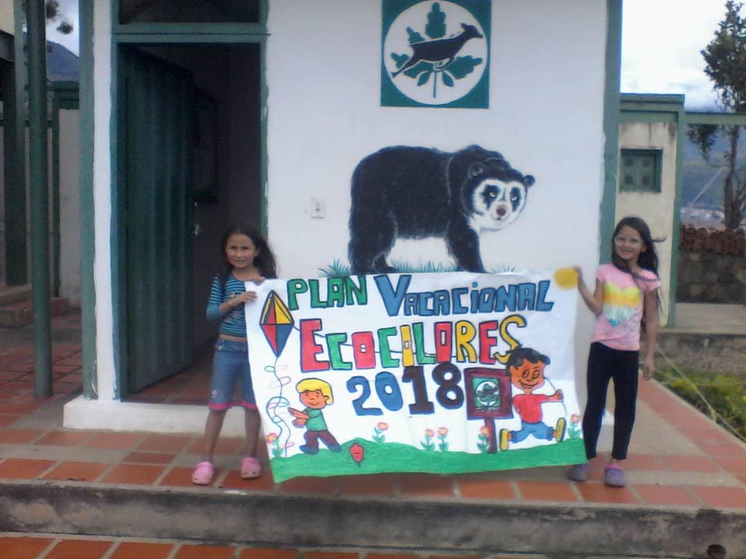 Inparques realiza tercera edición del Plan Vacacional Ecocolores en Táchira