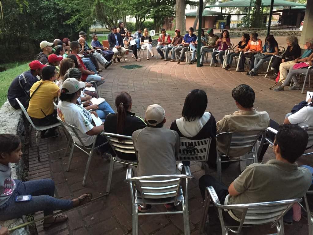 Movimientos ecosocialistas se integran al Parque de Recreación Zoológico de Caricuao