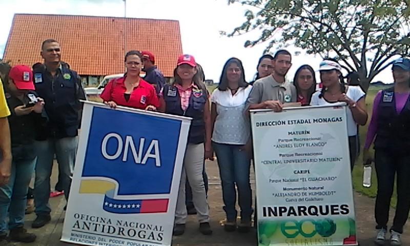 Inparques Monagas participa en apertura del X Plan Vacacional Escuelas Abiertas 2018