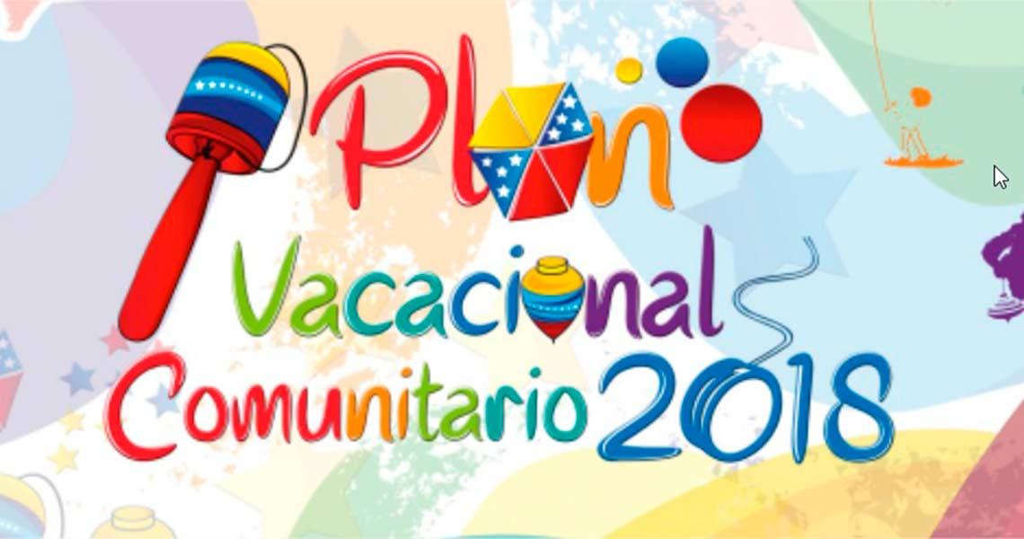10° Lanzamiento del Plan Vacacional Comunitario 2018 se efectuó en el Parque Alí Primera
