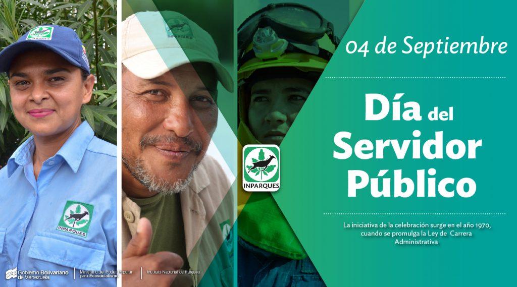 Servidores públicos de Venezuela celebran su día