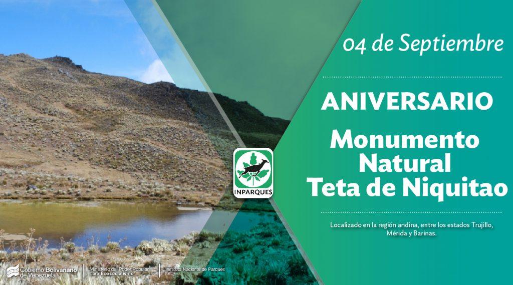 Inparques conmemora aniversario del Monumento Natural Teta de Niquitao-Güirigay