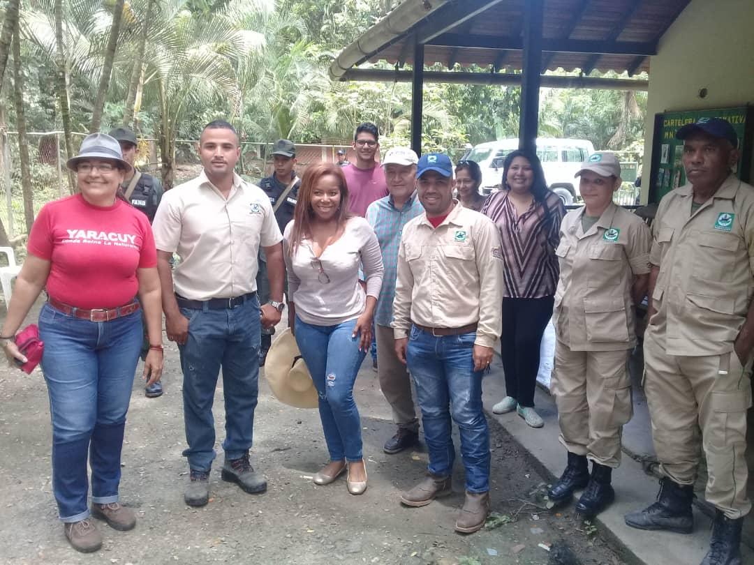 Cónsul de Ecuador visitó espacios del Monumento Natural Cerro María Lionza