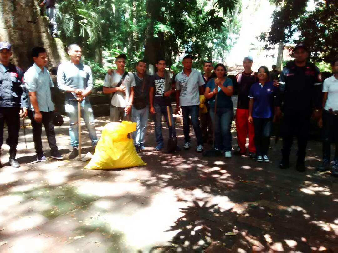 Inparques y el MSP embellecen Parque Histórico Arqueológico San Felipe el Fuerte