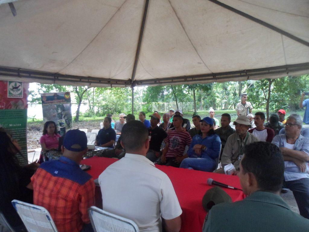 Inparques realiza Primer Seminario de Legislación Ambiental en el Monumento Natural María Lionza