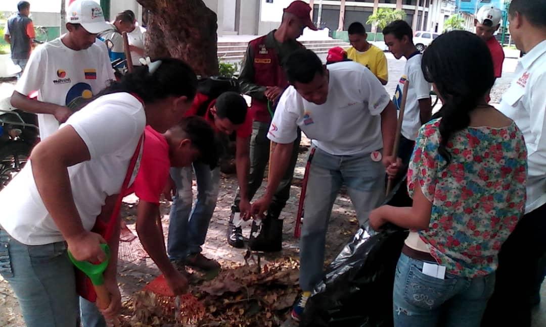 Inparques participó en jornada ambiental en Apure
