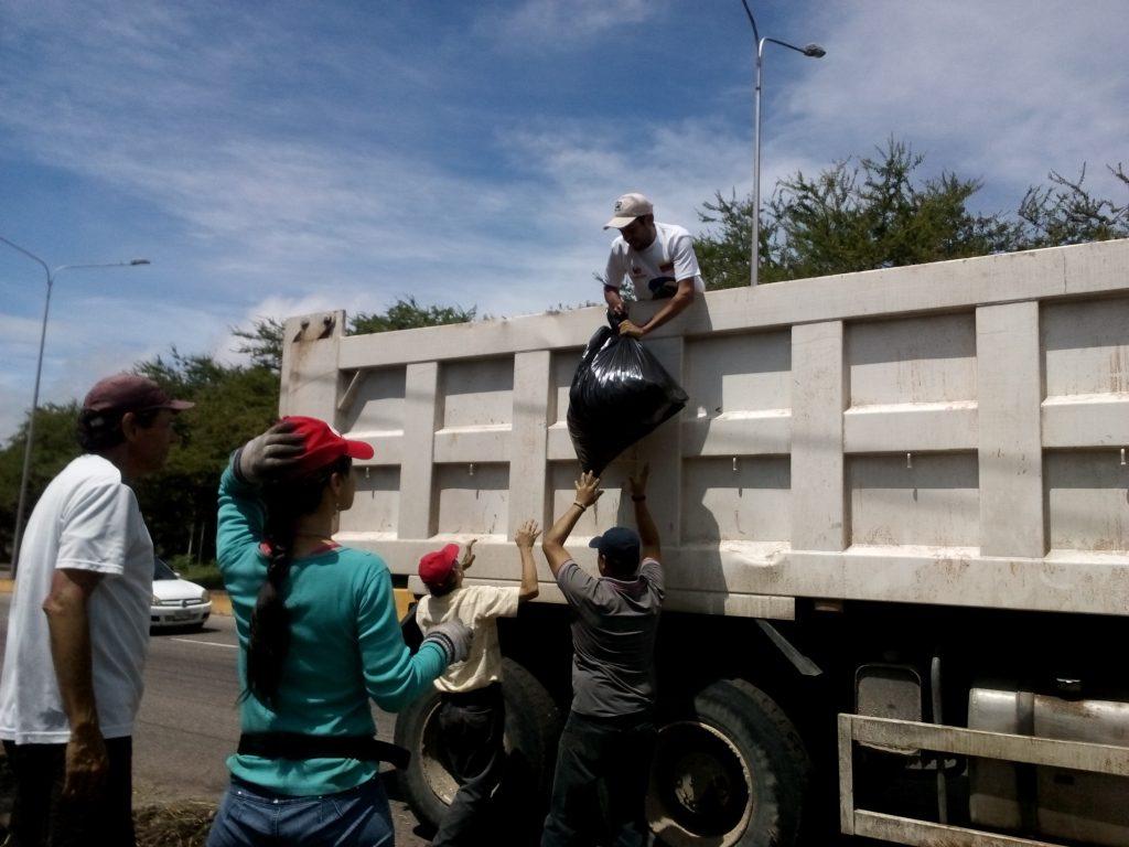 Ecosocialistas participaron en jornada de embellecimiento de San Cristóbal