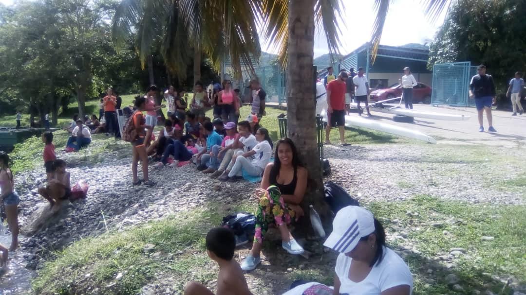 Poder Popular se empodera de los espacios Recreativos del Parque  Cumaripa