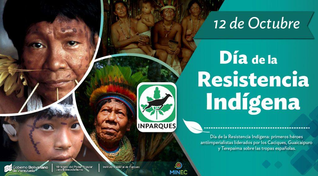 12 de Octubre: Día de la Resistencia Indígena