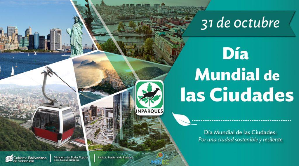 Día Mundial de las Ciudades, una fecha para reflexionar