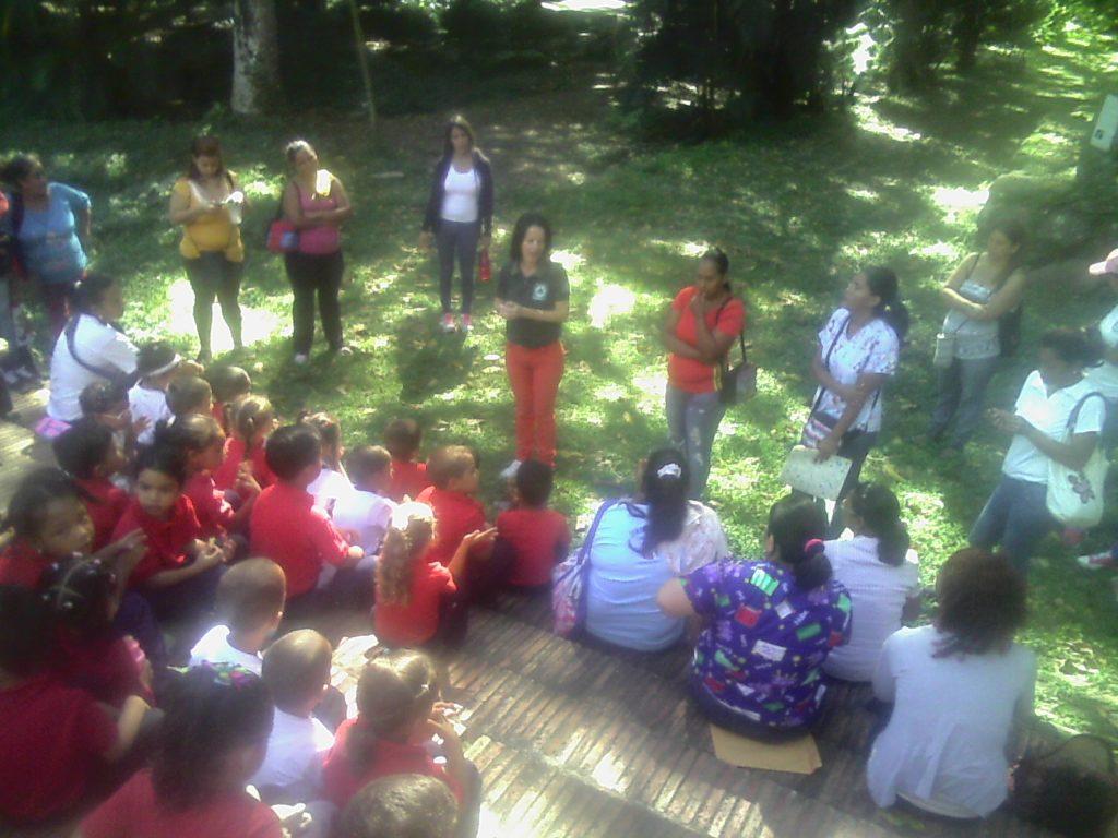 "Culmina semana del programa  ""Inparques va a la Escuela"" con diferentes actividades recreativas"