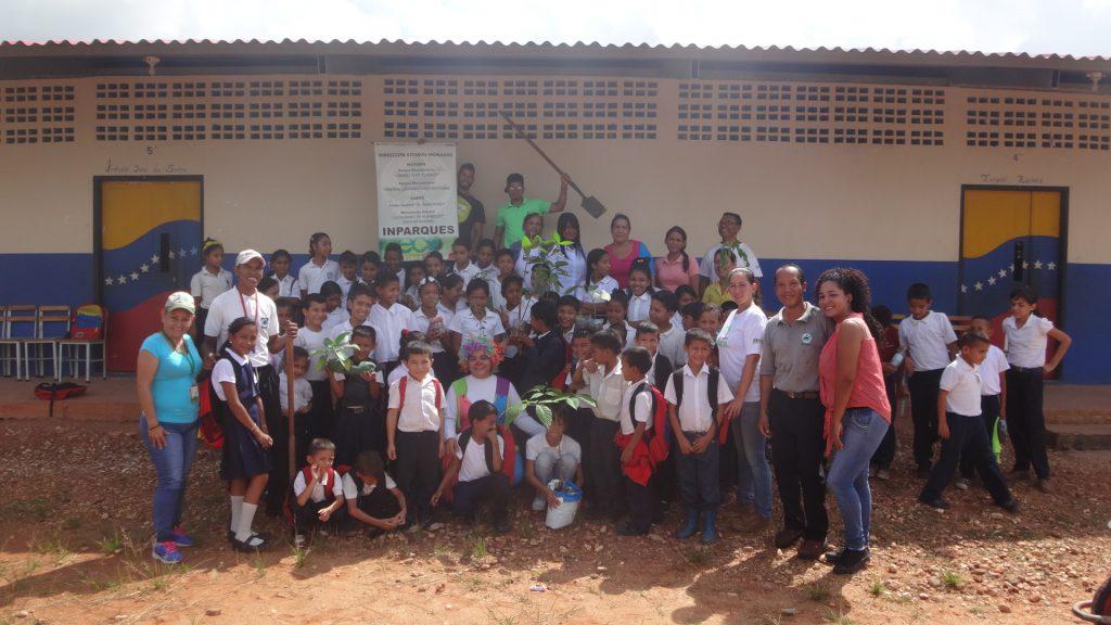 Inparques Monagas comenzó el Plan Escuelas Ecorecreadoras