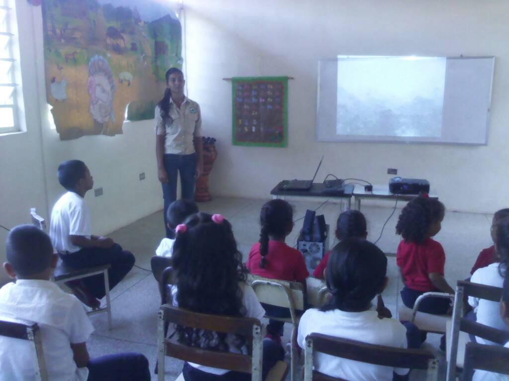 Colectivo ambiental realizó toma pedagógica en escuela bolivariana de Yaracuy