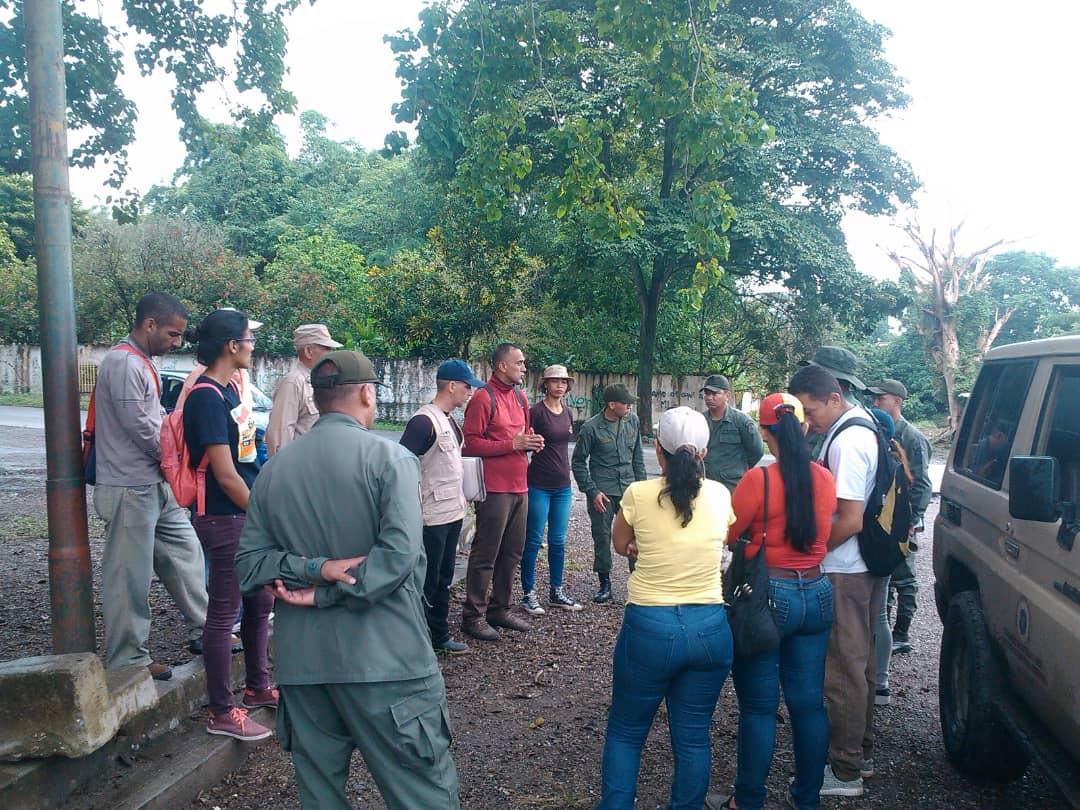 """Jornada de inspección se realizó en el Parque Recreacional """"El Dorado"""""""