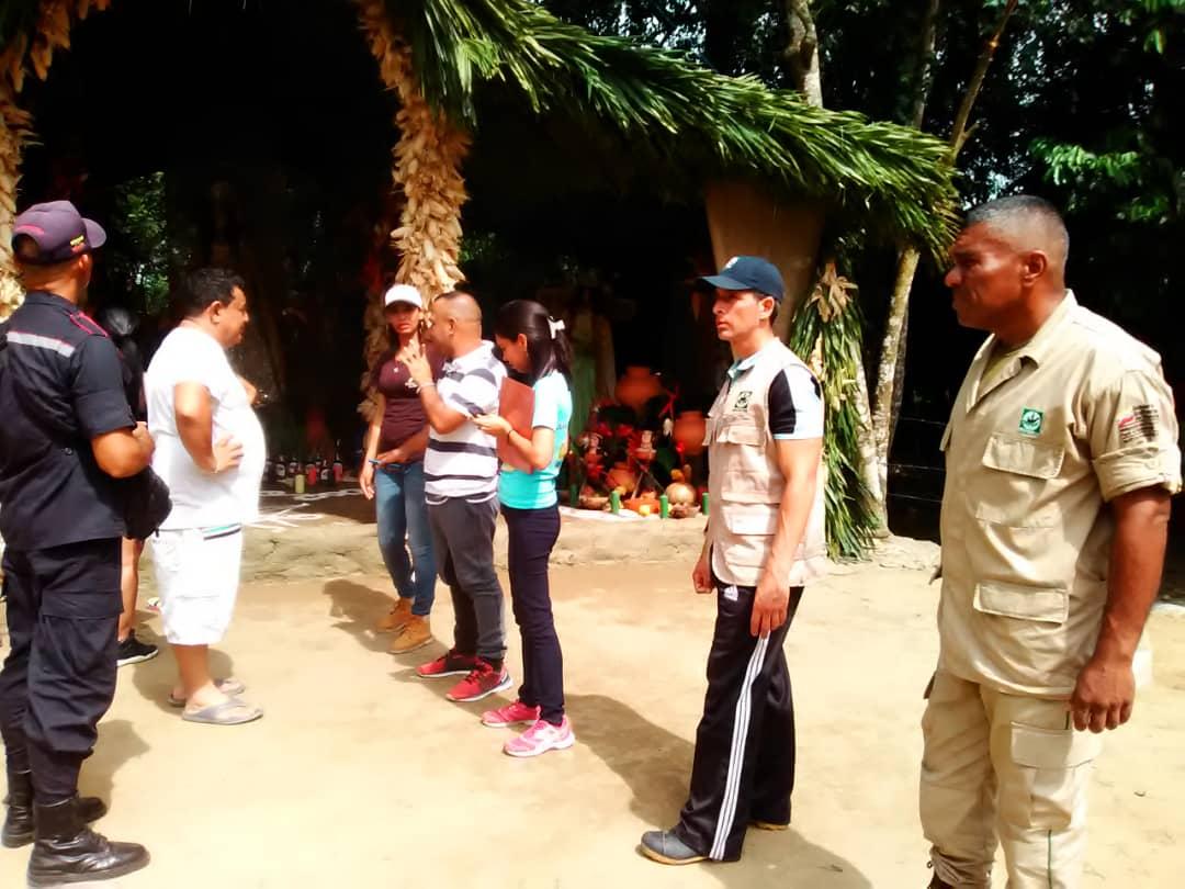 Inparques  desplegó  operativo de seguridad en el Monumento Natural Cerro María Lionza