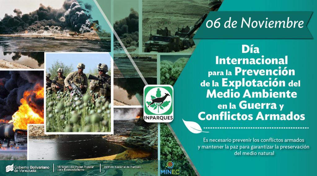 El ambiente: victima silente de los conflictos armados