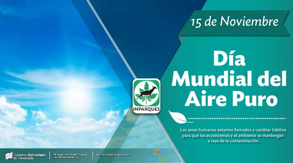 Venezuela celebra el Día Mundial del Aire Puro