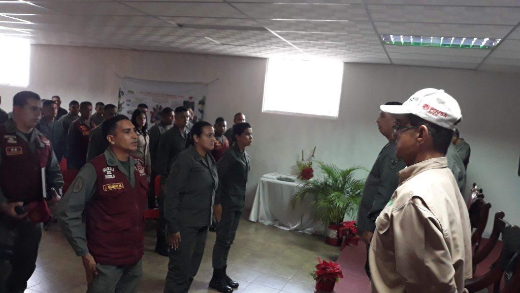 Servidores Públicos de Inparques y GNB culminaron Diplomado de Guardería Ambiental