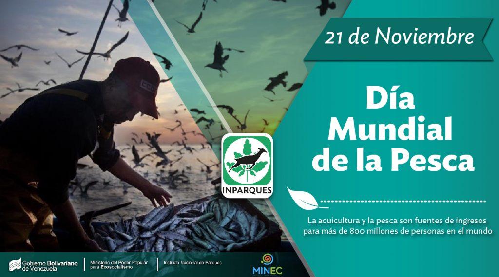 Este 21 de noviembre se celebra el Día Mundial de la Pesca