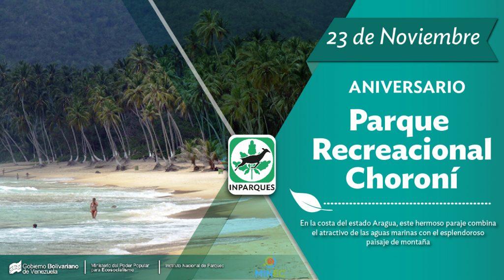 Parque Recreacional Choroní cumple 42 años como atractivo natural en Aragua